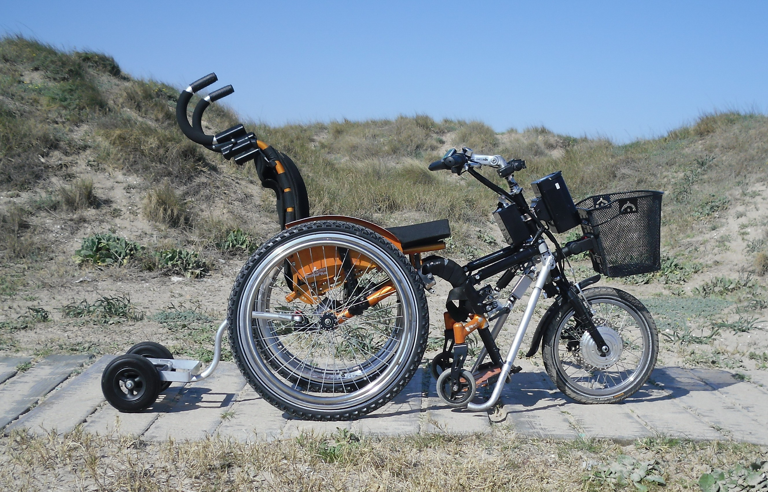 Wheelchair transporter